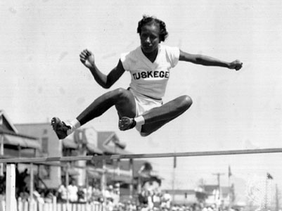 The first African-American woman to win a gold medal in the ...